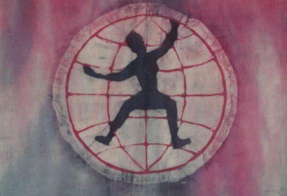 Logo w artystycznej odsłonie/ batik